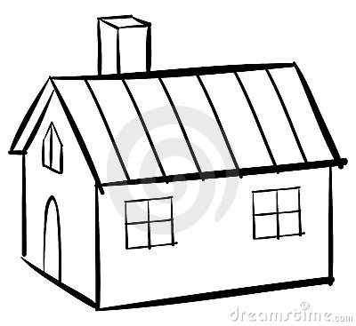 House outline clip art clipart panda free clipart images for House drawing easy