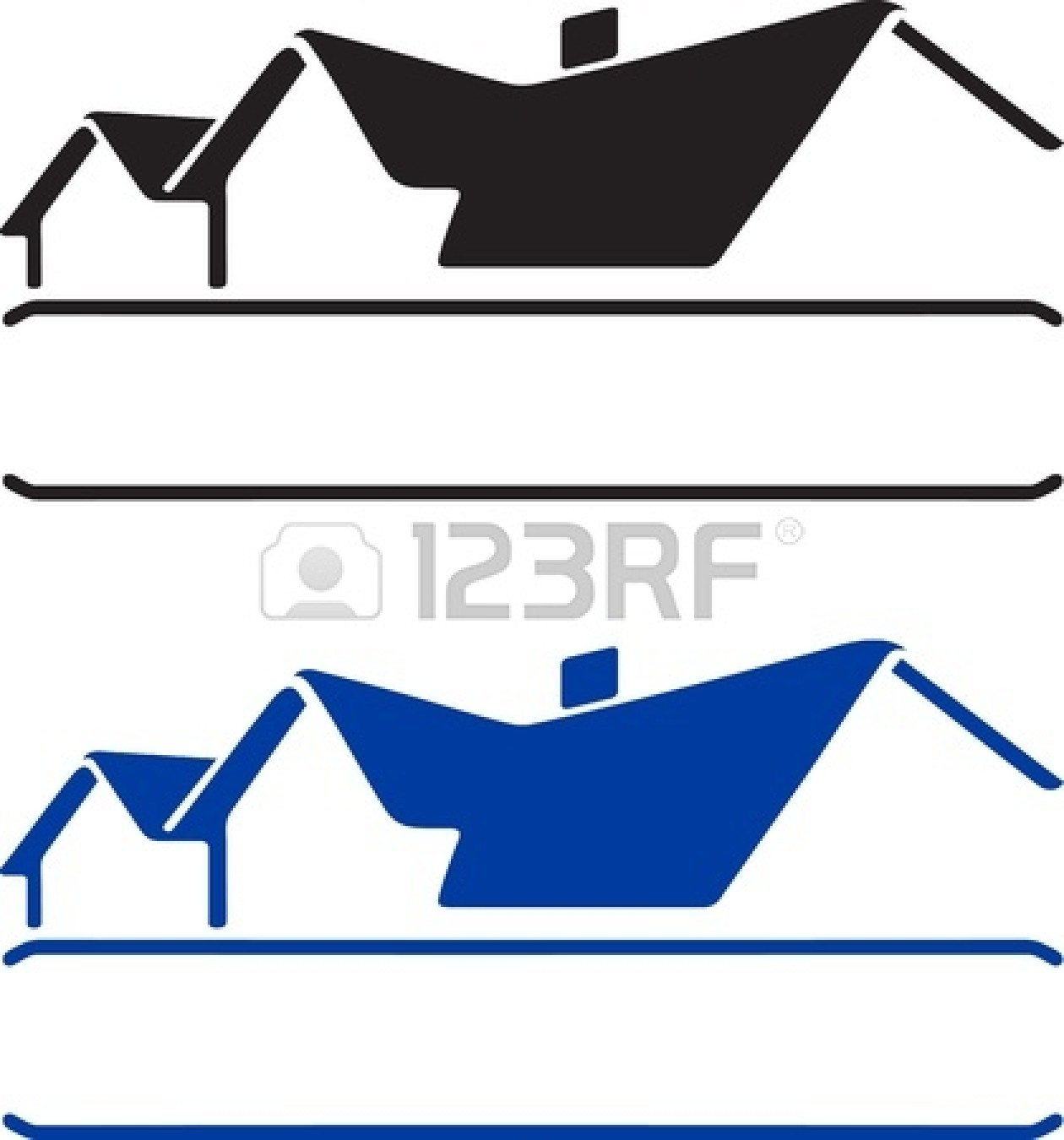 Line Art House Vector : House roof outline clipart panda free