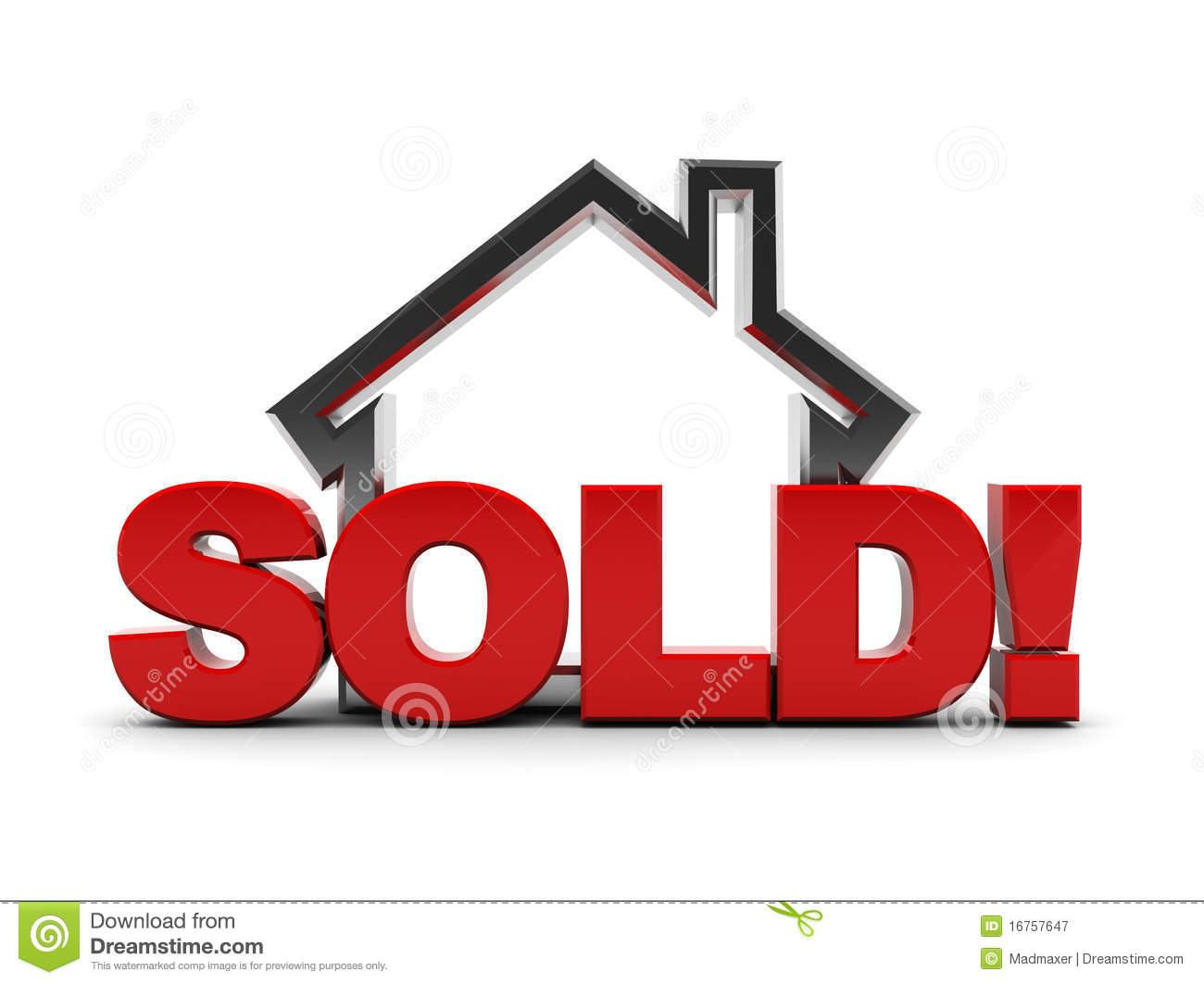 Sold House Clip Art | Clipart Panda - Free Clipart Images