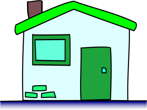 House window clipart clipart panda free clipart images for Simple door images