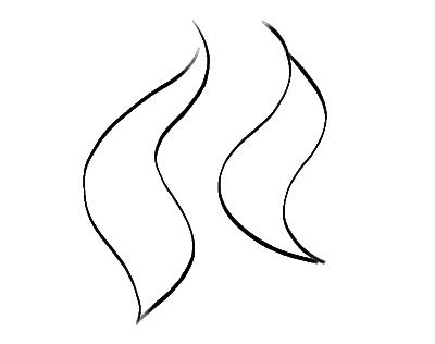 how to draw cartoon fire flames clipart panda free