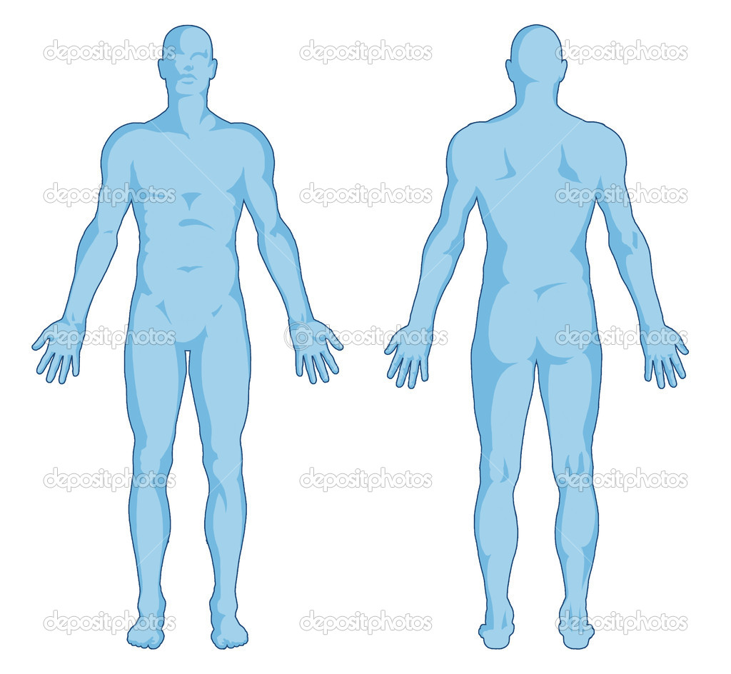 Outline Of A Human Body Clipart Panda Free Clipart Images