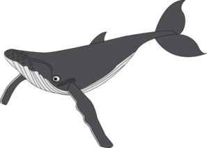 humpback whale clipart clipart panda free clipart images rh clipartpanda com Sea Turtle Clip Art Angelfish Clip Art