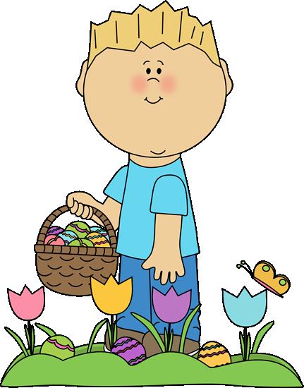 Easter Egg Hunt Clip Art