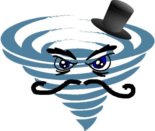 Evil Hurricane clip art