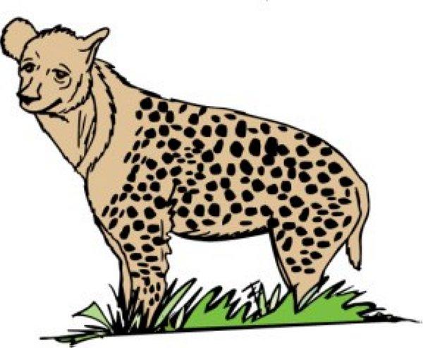 hyena clip art free clipart panda free clipart images free clipart hyena Hyena Silhouette