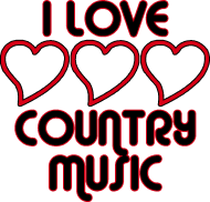 I Love Country Music   Clipart Panda - Free Clipart Images
