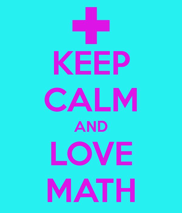 I Love Math Wallpaper