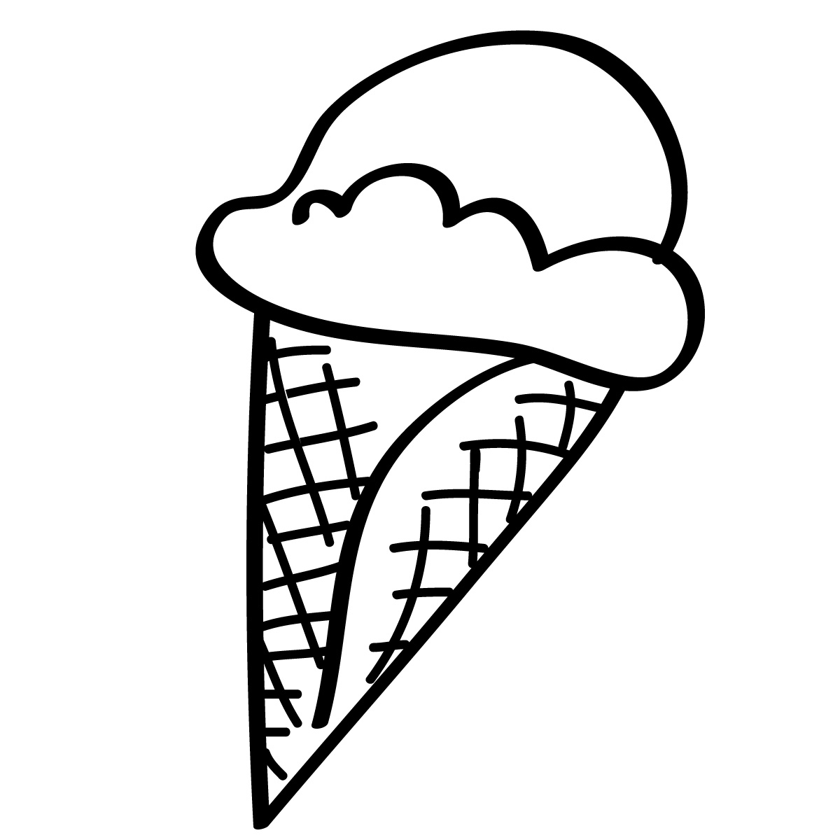 ice cream clipart black and white clipart panda free clipart images rh clipartpanda com ice cream scoop clipart black and white ice cream cone clipart black and white