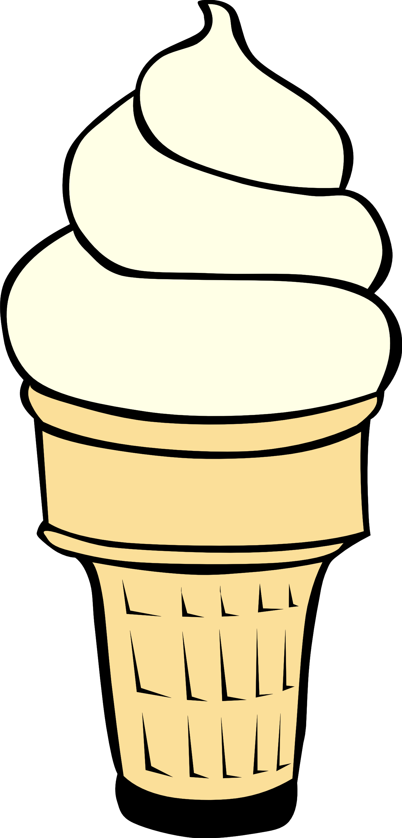 Ice Cream Cone Clipart | Clipart Panda - Free Clipart Images