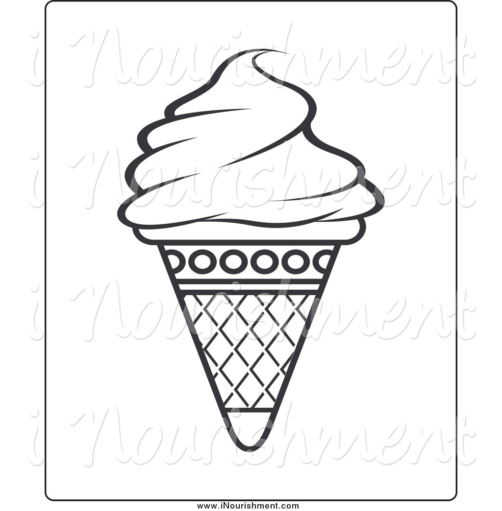 ice%20cream%20clipart%20black%20and%20white
