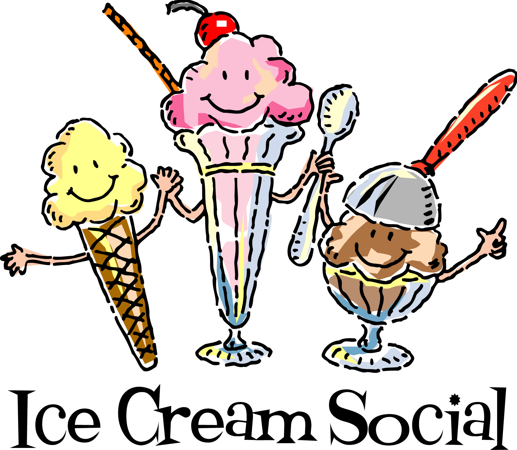 Ice Cream Social Clip Art | Clipart Panda - Free Clipart Images