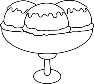 ice cream sundae clipart black and white clipart panda free rh clipartpanda com ice cream clipart black and white ice cream cone clipart black and white