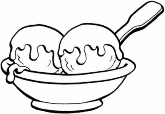 ice cream coloring pages | Clipart Panda - Free Clipart Images