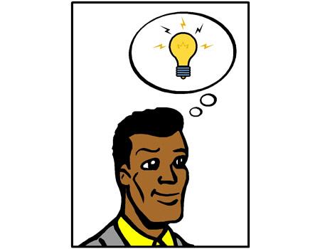 Idea Light Bulb Cartoon | Clipart Panda - Free Clipart Images