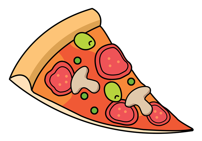 Pepperoni Pizza Slice Clipart | Clipart Panda - Free ...