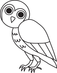 Flying Owl Clipart Black And White   Clipart Panda - Free ...