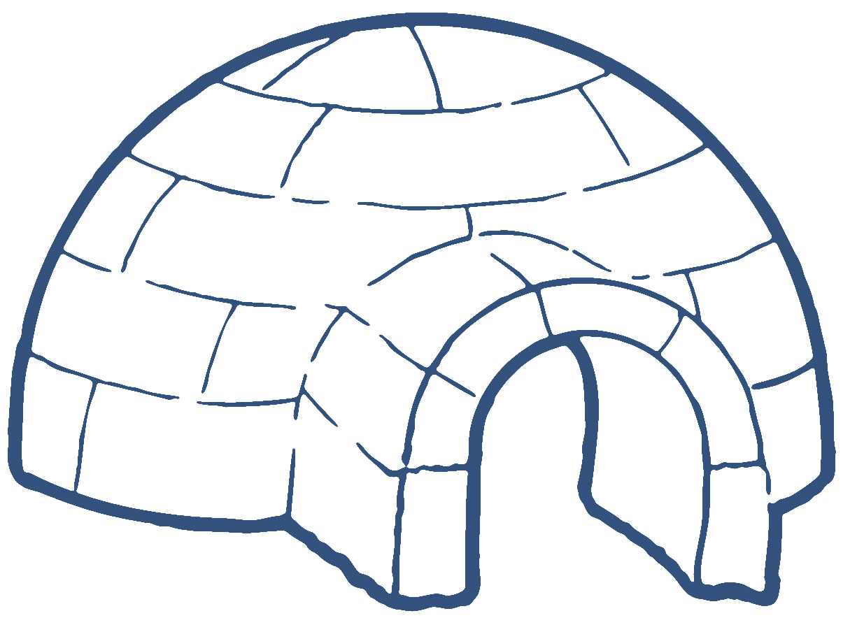 free printable igloo coloring pages - photo#30