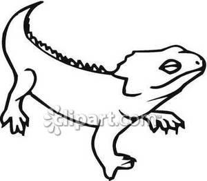 iguana clipart 4 300x262 | Clipart Panda - Free Clipart Images