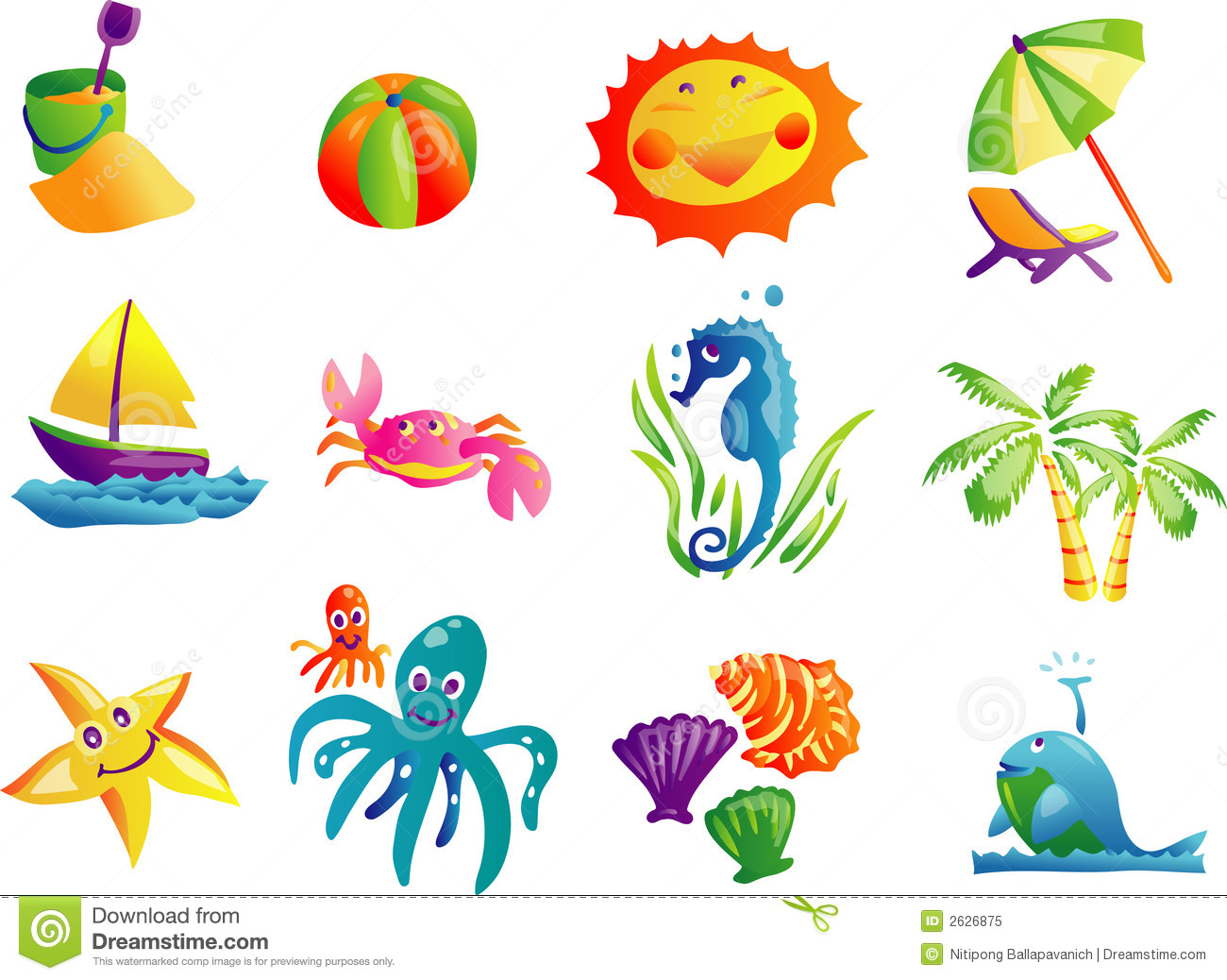 Beach Clipart | Clipart Panda - Free Clipart Images