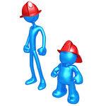 Wannabe Fireman Clip Art