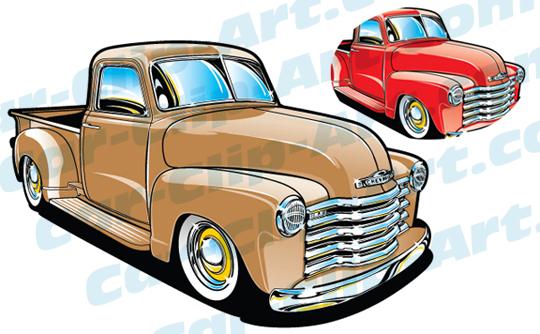 Classic Truck Cartoon | www.pixshark.com - Images ...