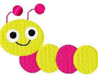 Cute Worm Clip Art
