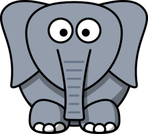 cartoon elephant clip art clipart panda free clipart images rh clipartpanda com elephant clipart grey and white elephant clipart for kids