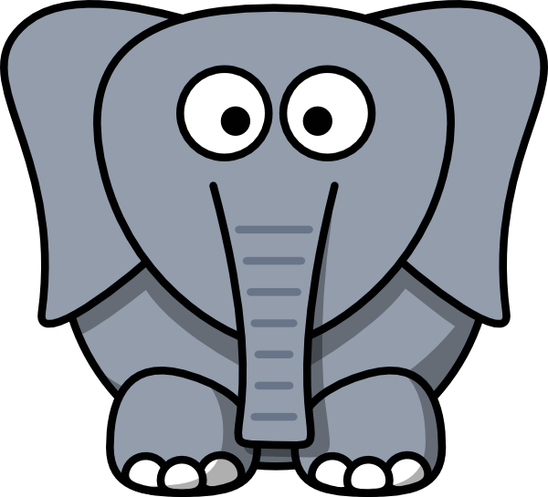 Indian Elephant Drawing Outline   Clipart Panda - Free ...