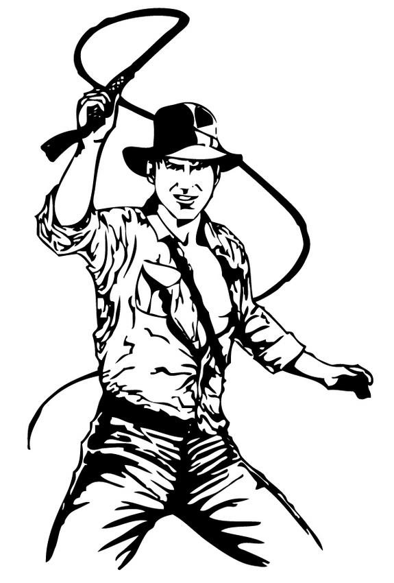 Indiana Jones Clip Art