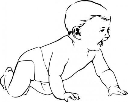 Infant Clip Art Free Clipart Panda