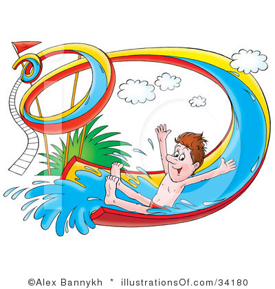Inflatable Water Slide Clipart | Clipart Panda - Free Clipart Images