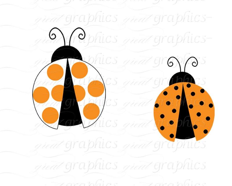 Ladybug Clip Art Orange | Clipart Panda - Free Clipart Images