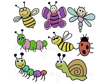 Insect Clipart  ...Spring Insects Clipart