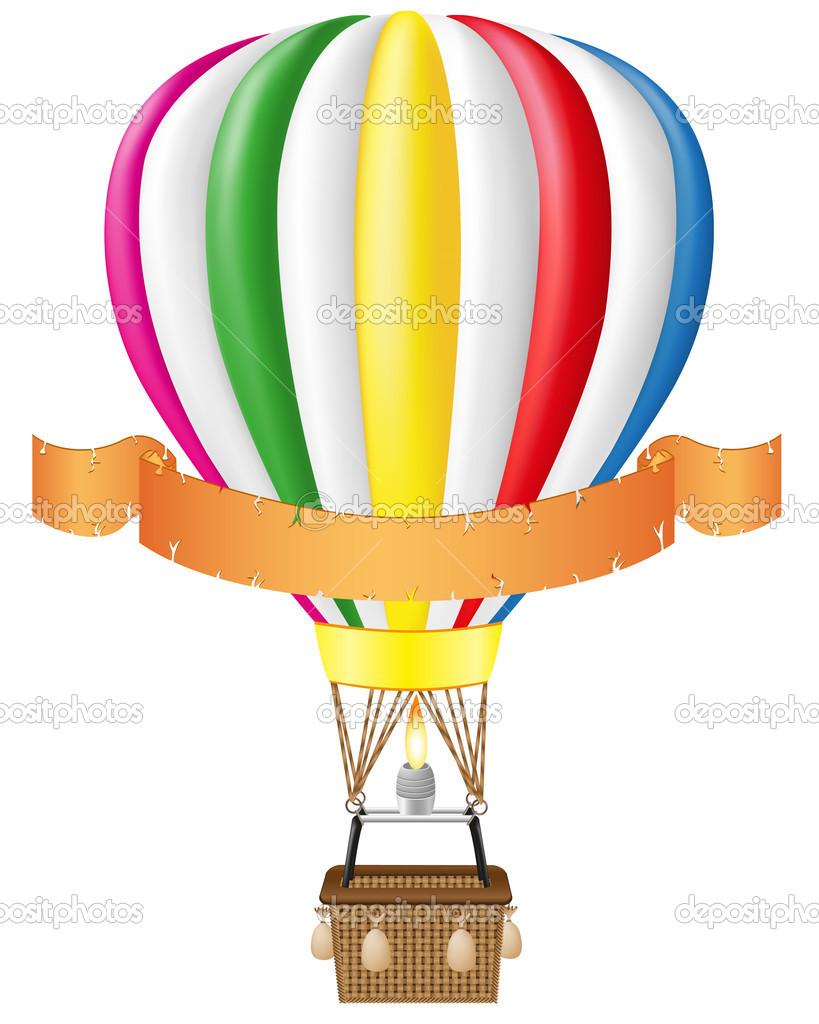 Hot air balloon and blank | Clipart Panda - Free Clipart ...