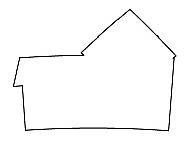 Draw an outline of the house clipart panda free for Minimalist house sketch