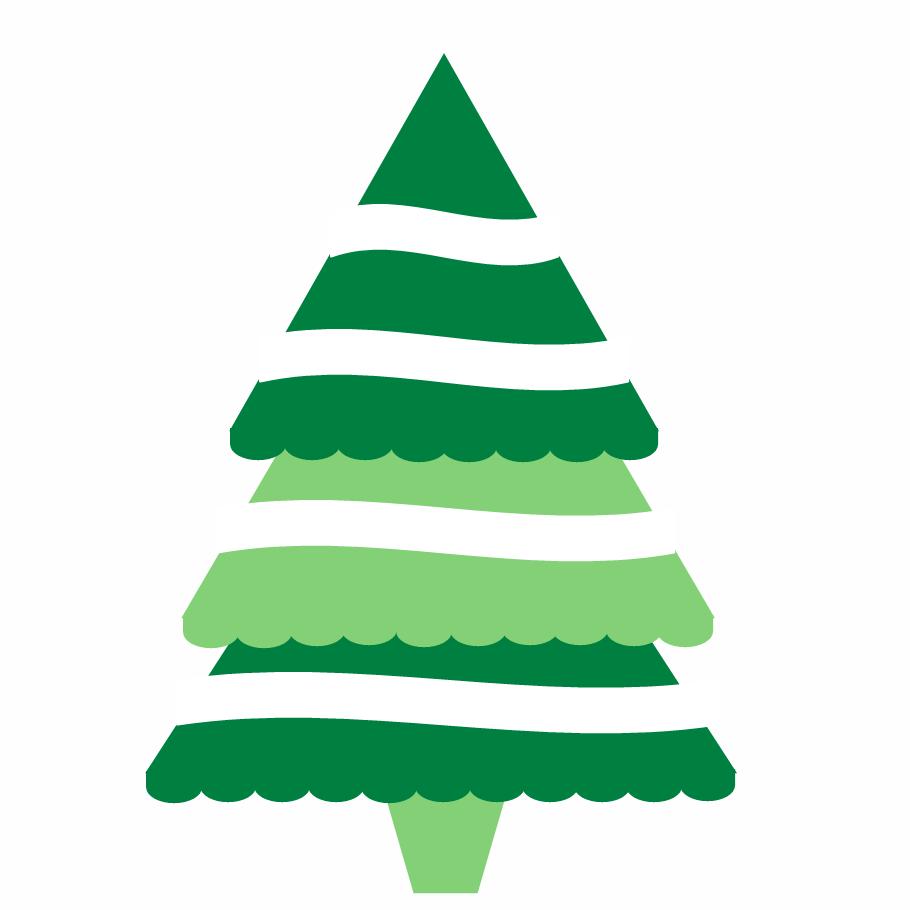 Clip Art Christmas Tree Outline | Clipart Panda - Free ...