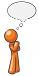 Person Thinking With Thought Bubble | Clipart Panda - Free Clipart ...