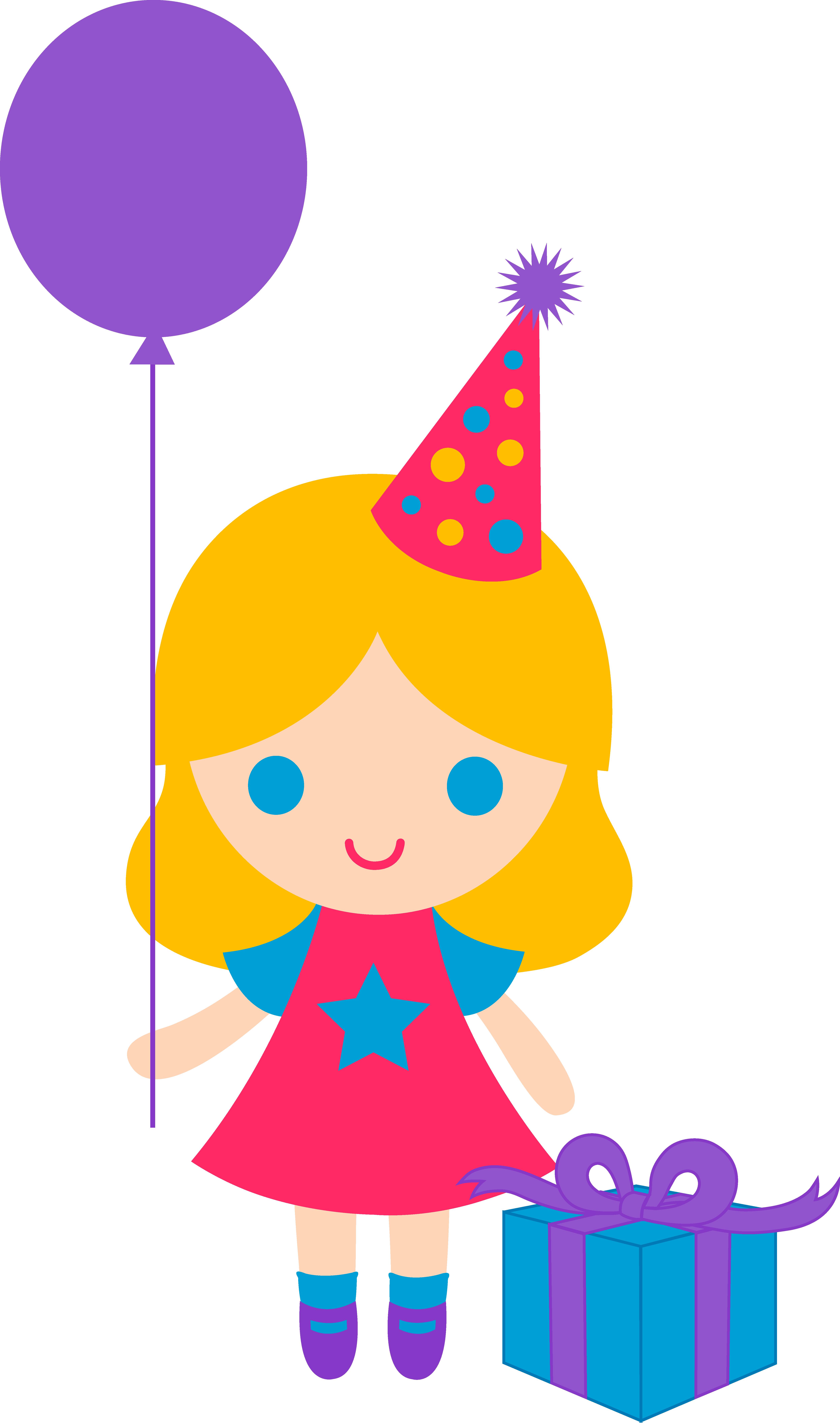 Little Birthday Girl Clip Art | Clipart Panda - Free ...