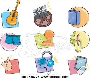 hobbies and interests icon clipart panda free clipart images