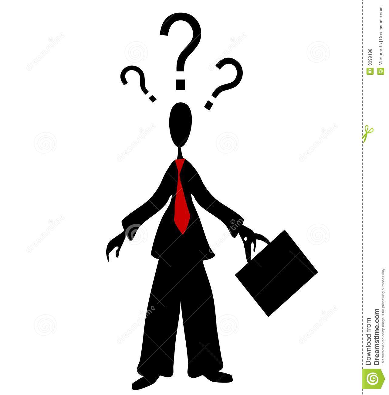 Pics photos clip art cartoon scientist with question mark stock - Interrogation 20clipart