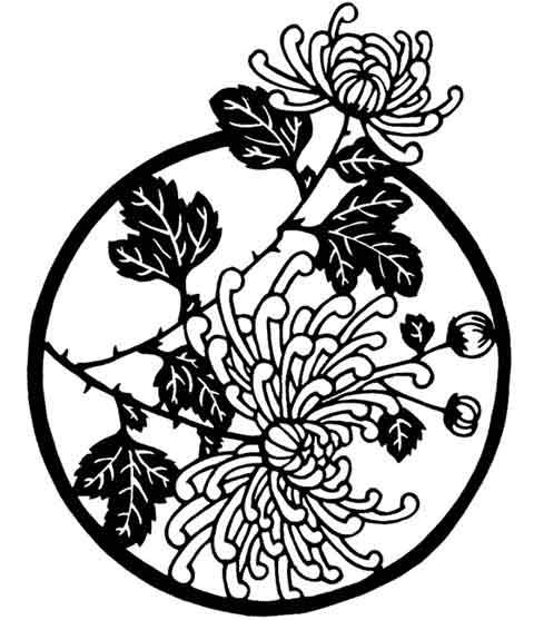 intruder 20clipart clipart panda free clipart images chrysanthemum clip art black white chrysanthemum clip art free