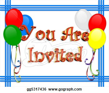 Birthday invitation balloons clipart panda free clipart images clipart info filmwisefo