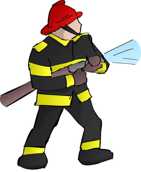 Cute Firefighter Clipart | Clipart Panda - Free Clipart Images