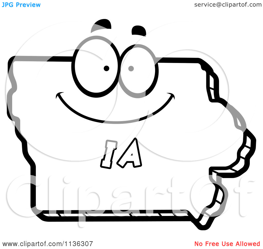 Iowa clip art free clipart panda free clipart images for Iowa coloring pages