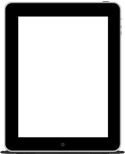 Ipad Clipart Black And White Clipart Panda Free