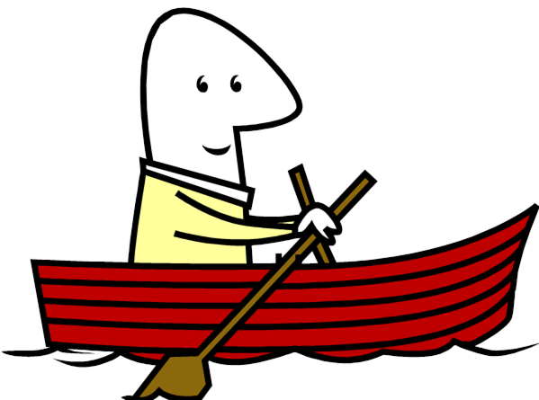 free clip art rowboat - photo #2