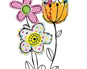 Iris Flower Clip Art 1
