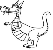 island-clip-art-black-and-white-animated-car-black-and-whitetn dragon    Island Clipart Black And White