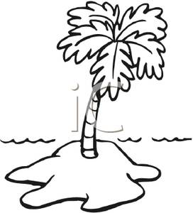 island-clipart-Black and White Island Royalty Free Clipart Picture    Island Clipart Black And White